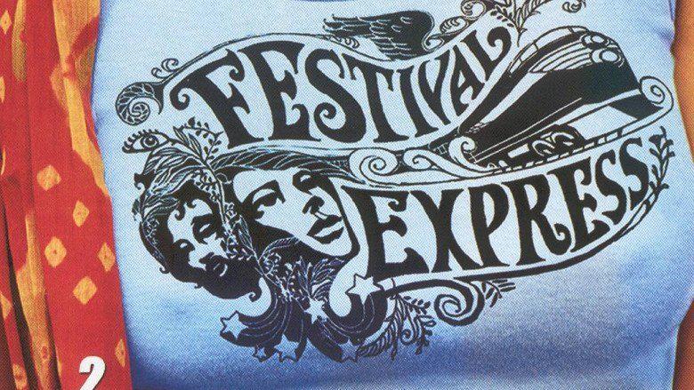 Festival Express movie scenes