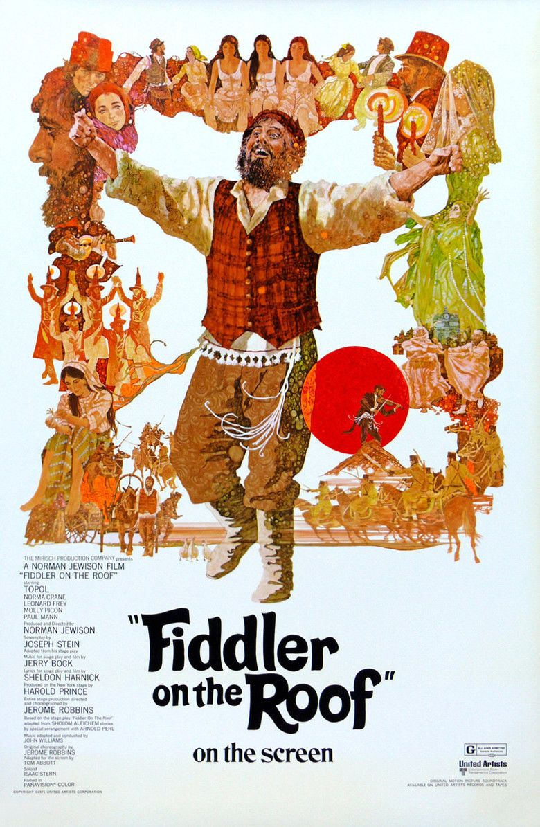 Fiddler on the Roof (film) movie poster