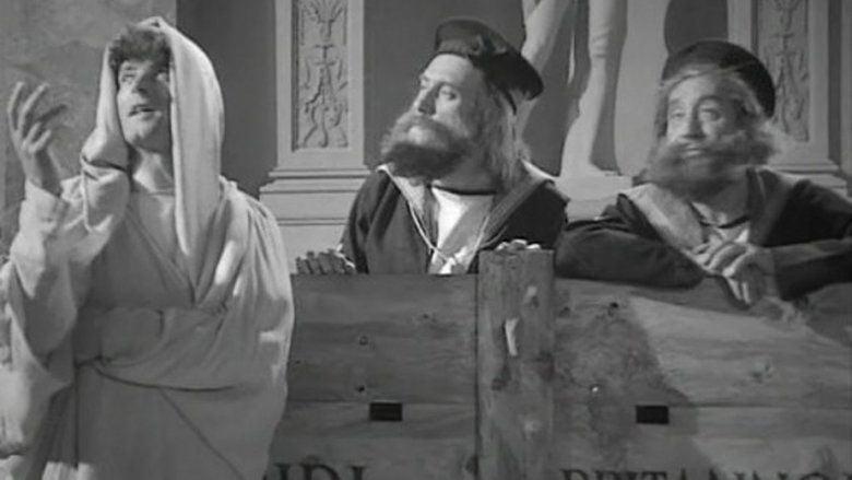 Fiddlers Three (1944 film) movie scenes