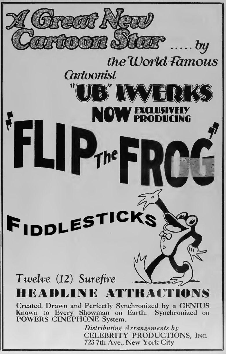 Fiddlesticks (film) movie poster
