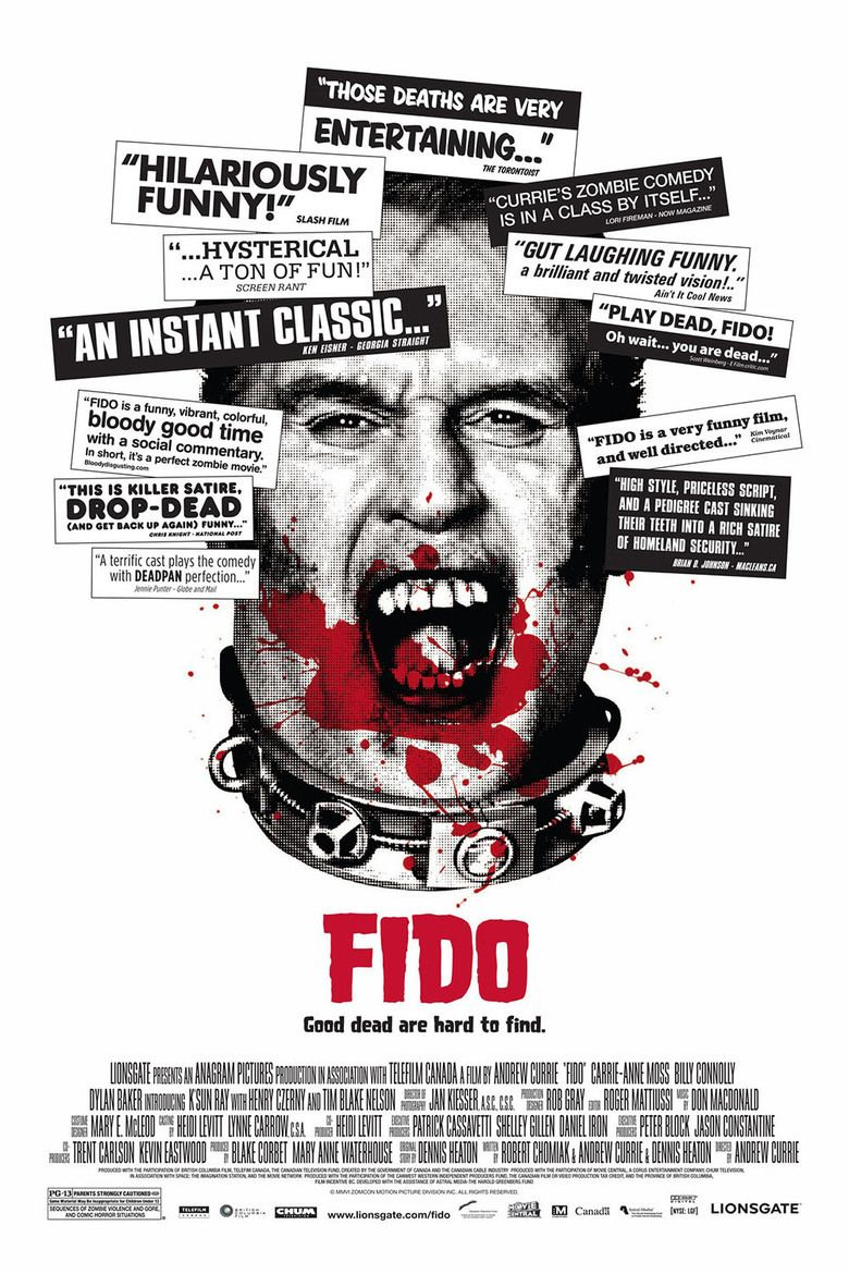 Fido (film) movie poster