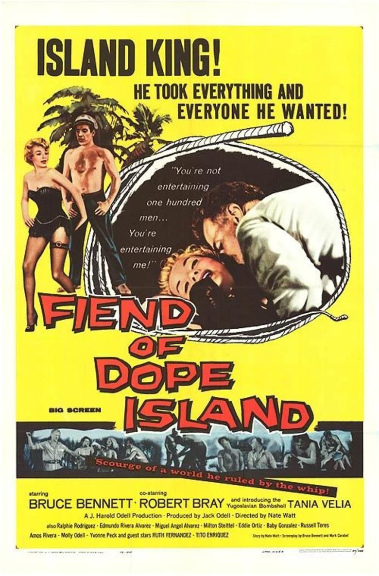 Fiend of Dope Island movie poster