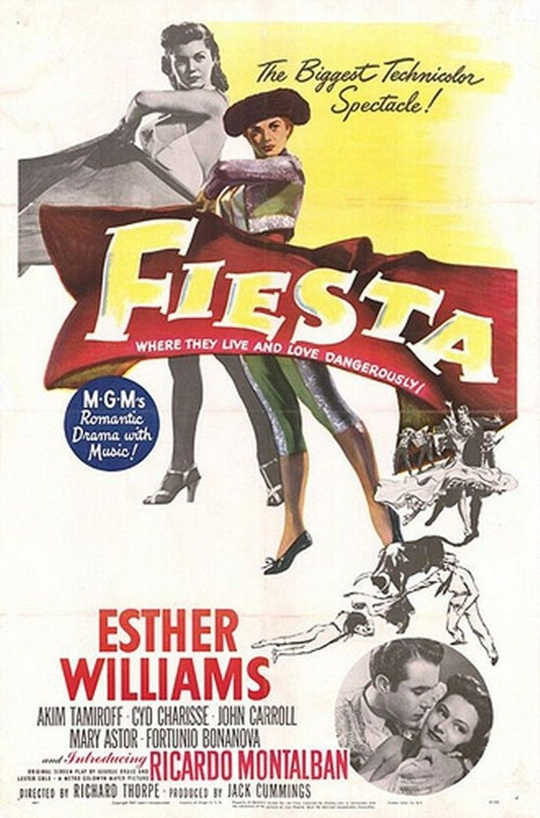 Fiesta (1947 film) movie poster