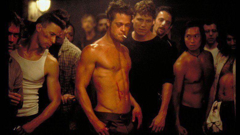 Fight Club movie scenes