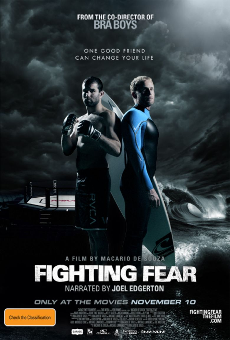 Fighting Fear movie poster
