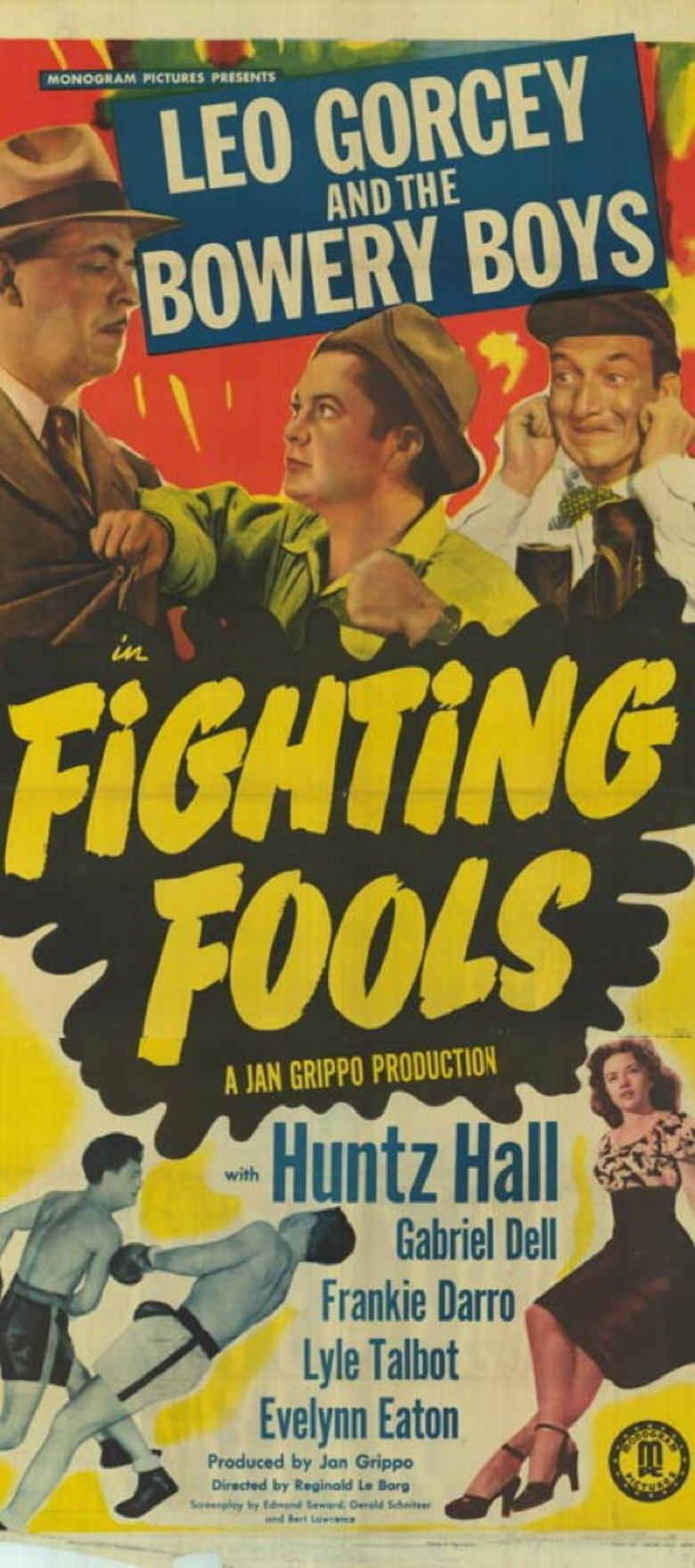 Fighting Fools movie poster