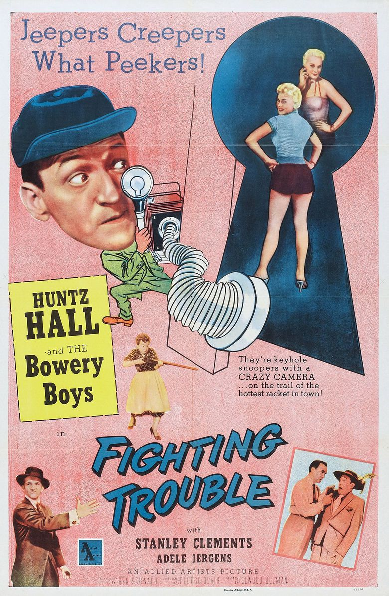 Fighting Trouble movie poster