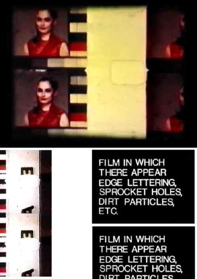 Film in Which There Appear Edge Lettering, Sprocket Holes, Dirt Particles, Etc movie poster
