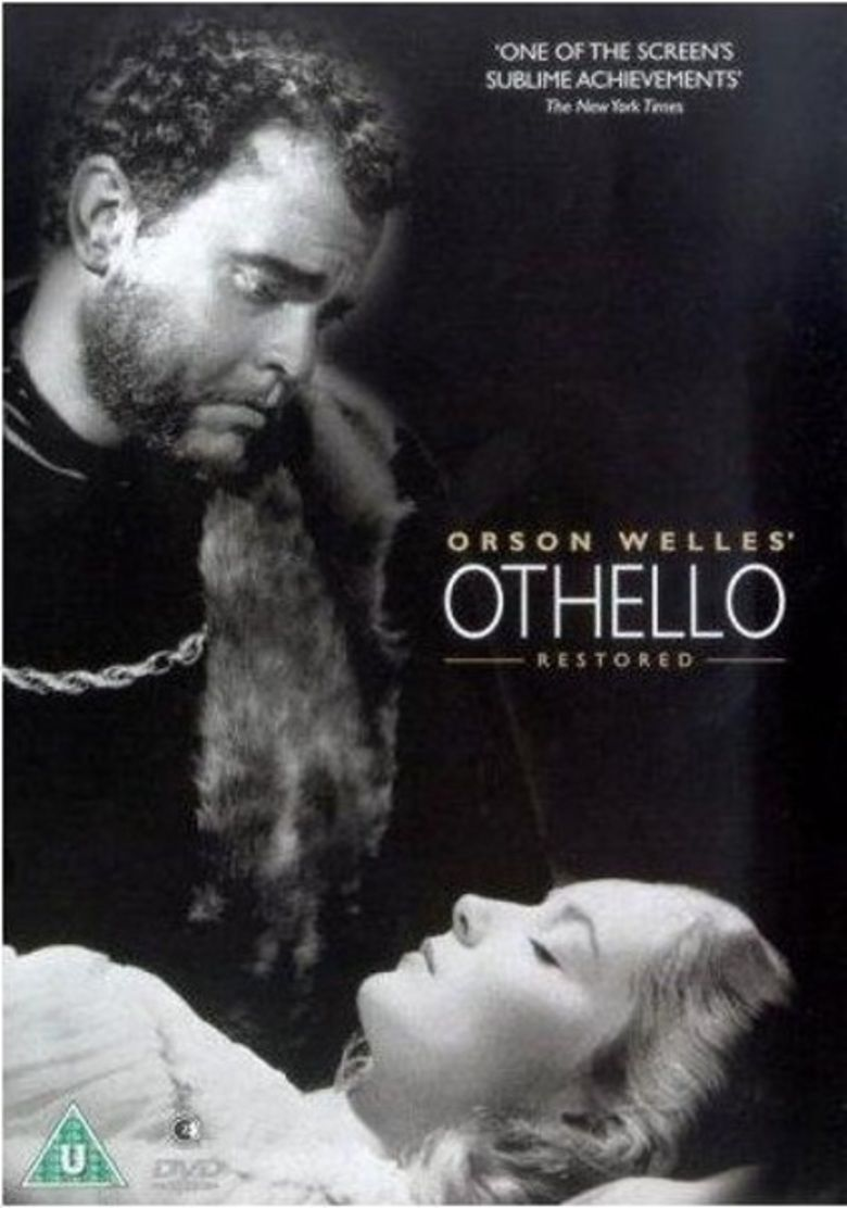 Filming Othello movie poster