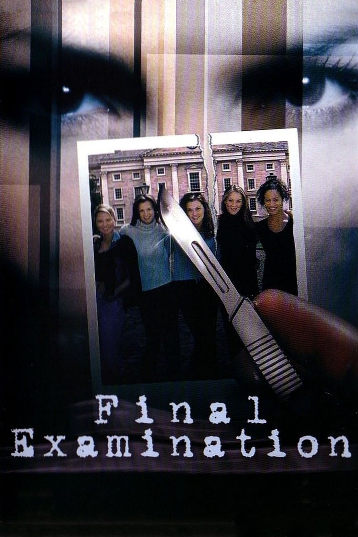 Final Examination (film) movie poster