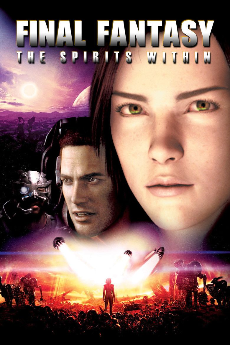 Final Fantasy: The Spirits Within movie poster