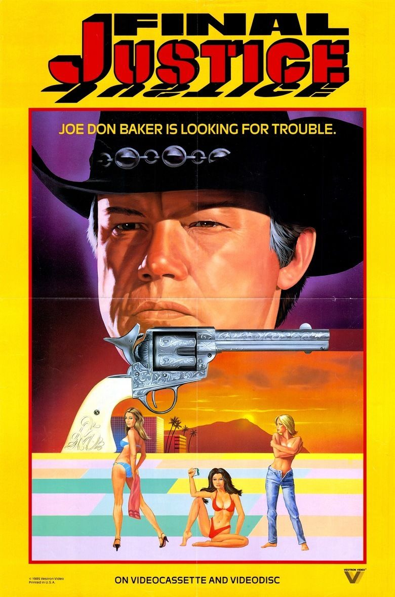 Final Justice (1984 film) movie poster