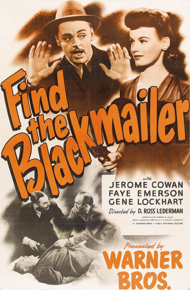 Find the Blackmailer movie poster