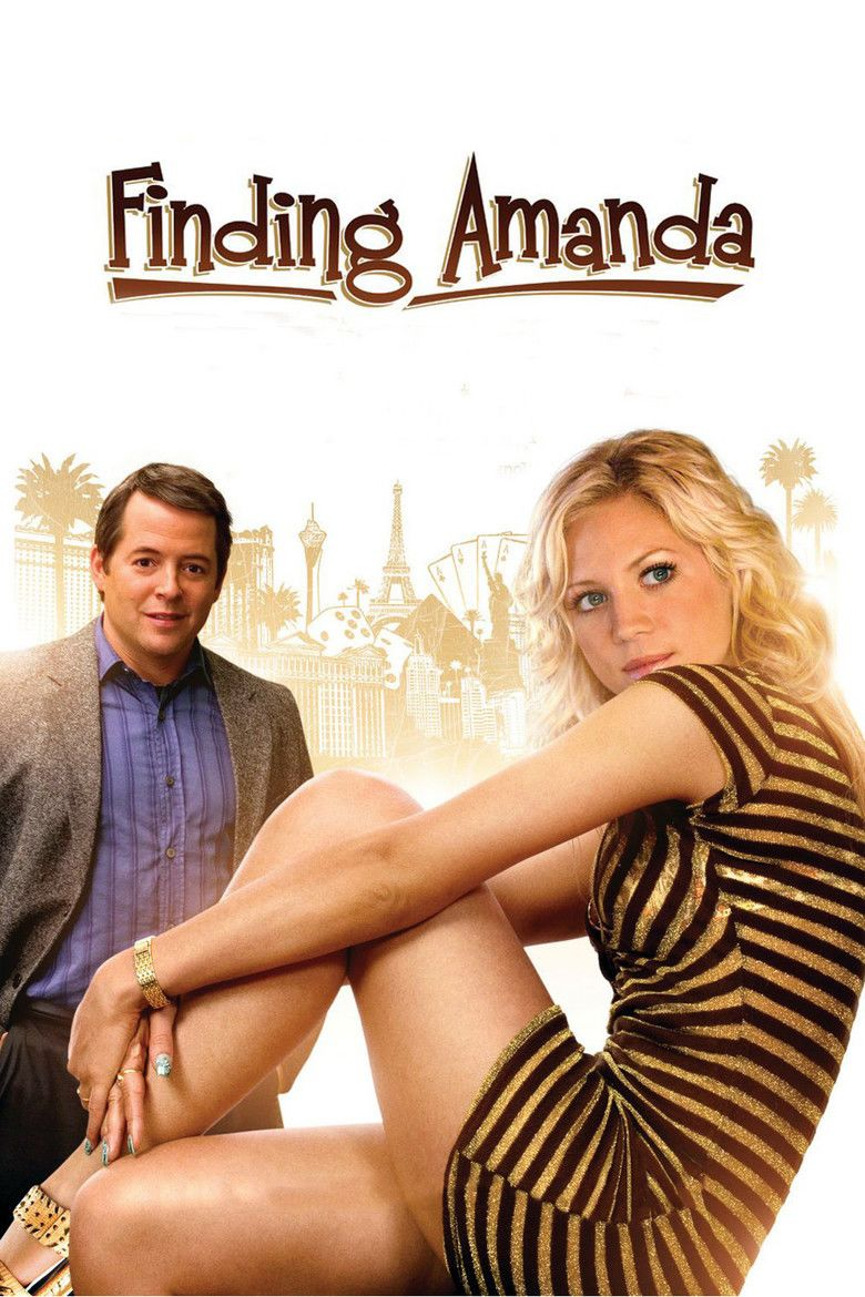 Finding Amanda movie poster