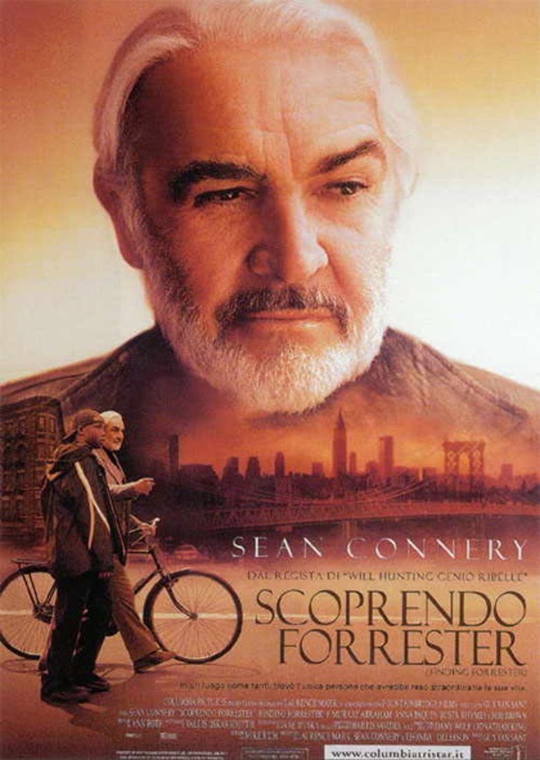 finding forrester the social encyclopedia finding forrester movie poster