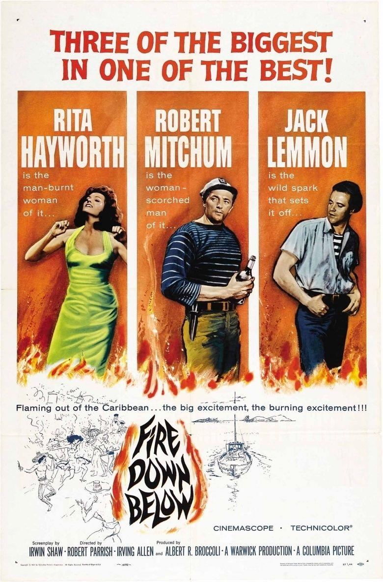 Fire Down Below (1957 film) movie poster