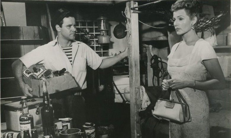 Fire Down Below (1957 film) movie scenes