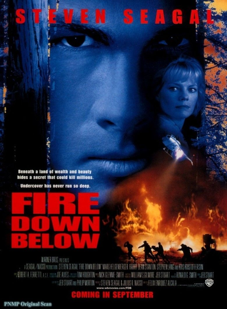 Fire Down Below (1997 film) movie poster