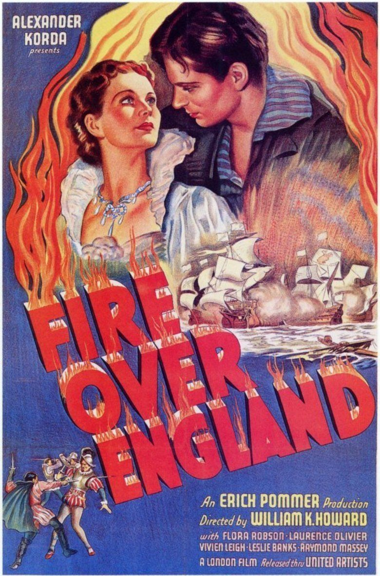 Fire Over England movie poster