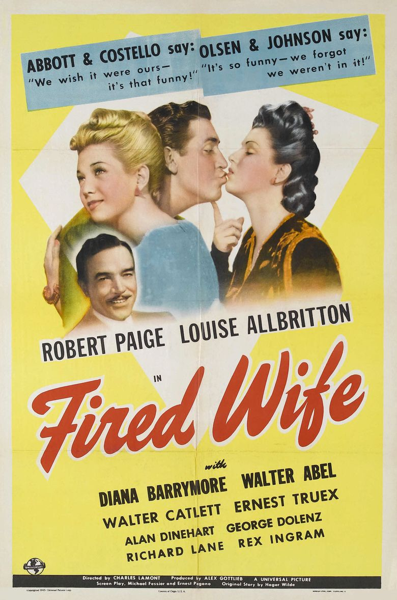 Fired Wife movie poster