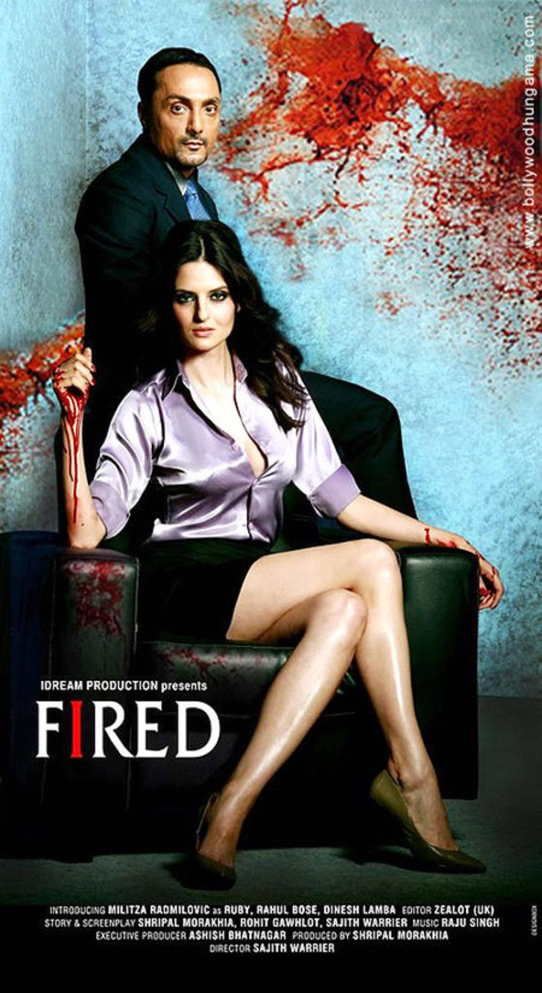 Fired (film) movie poster