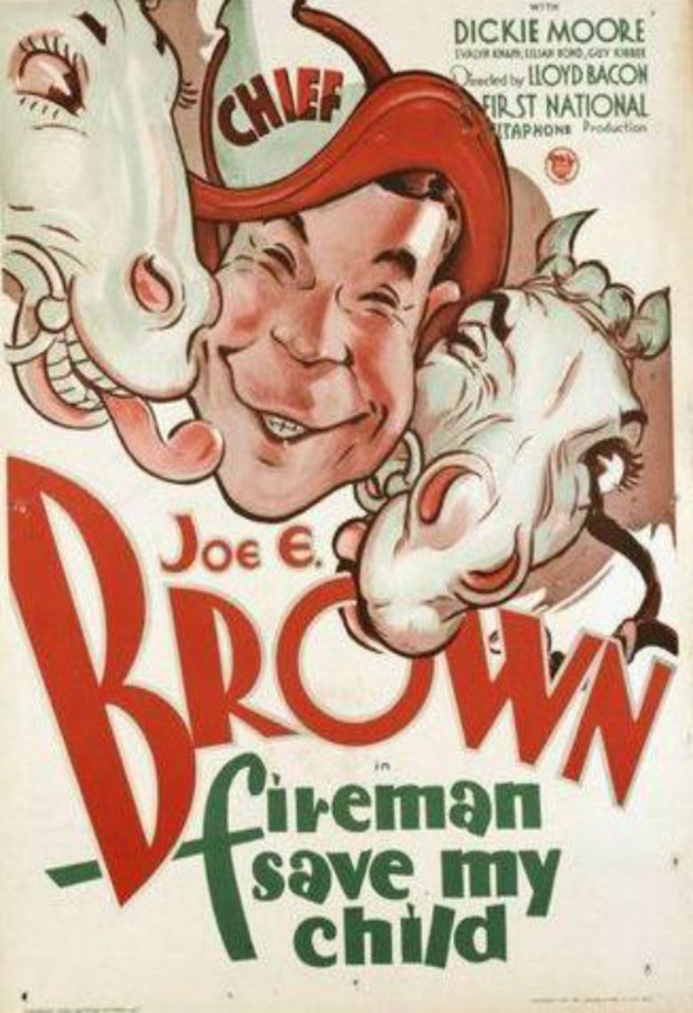Fireman, Save My Child (1932 film) movie poster