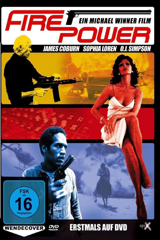 Firepower (film) movie poster