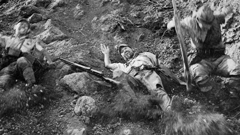 Fires on the Plain (1959 film) movie scenes