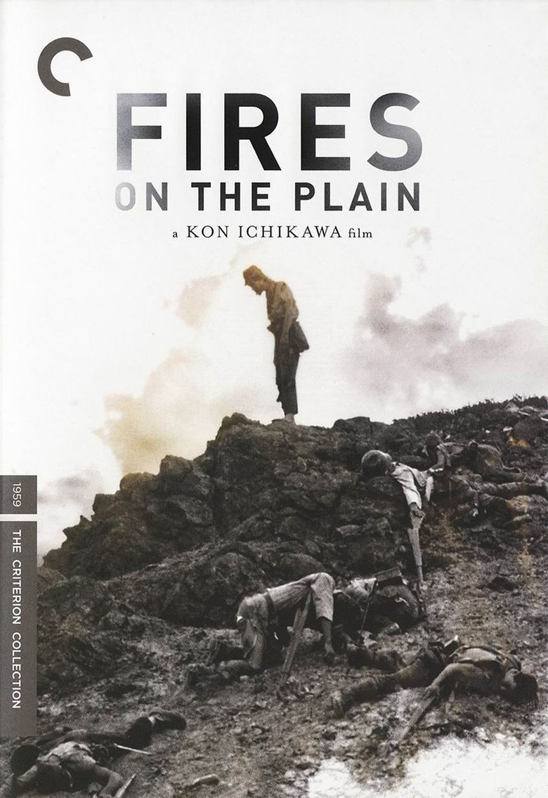 Fires on the Plain (1959 film) movie poster