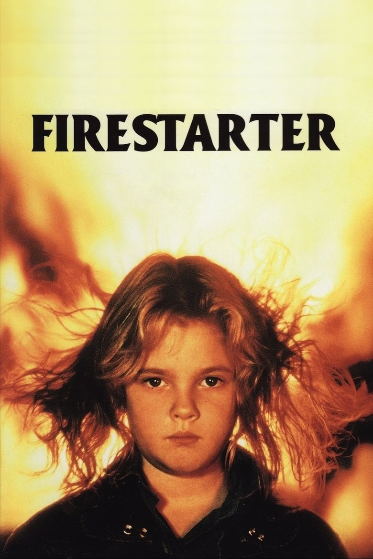 Firestarter (film) movie poster