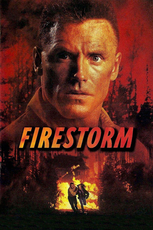 Firestorm (1998 film) movie poster