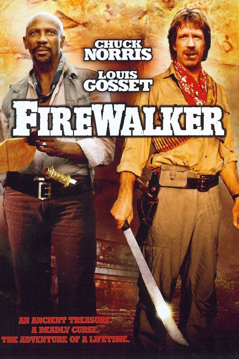 Firewalker (film) movie poster