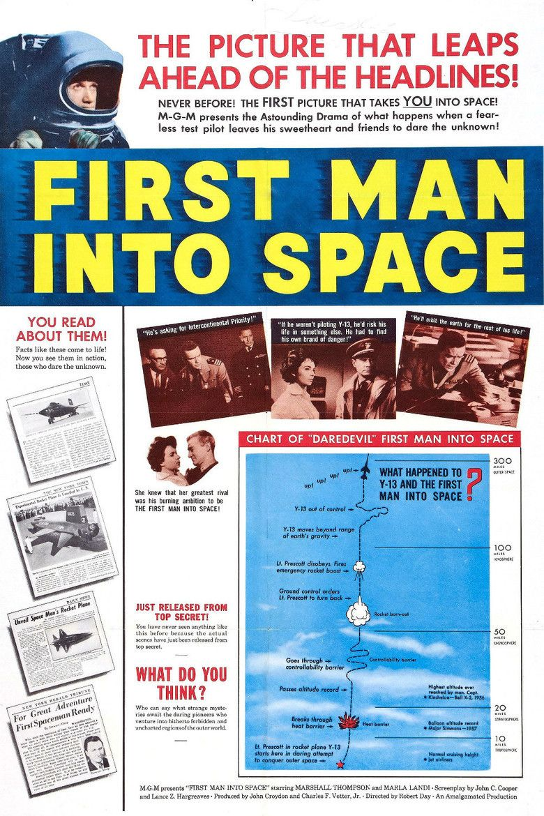 First Man into Space movie poster
