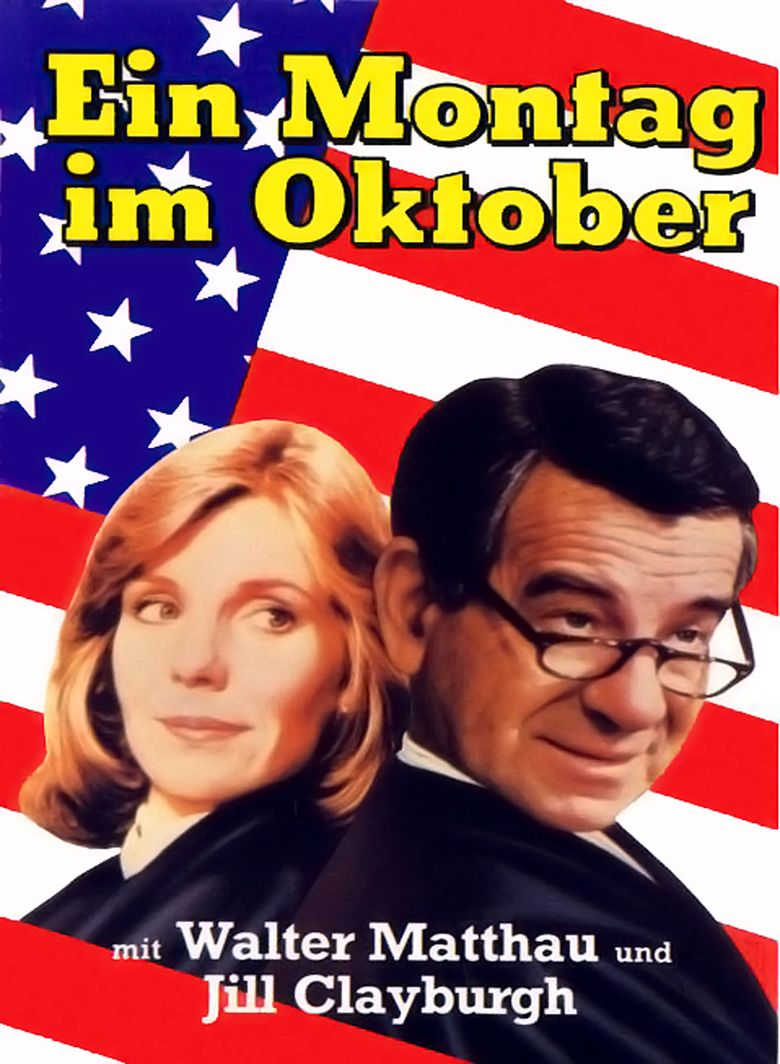 First Monday in October (film) movie poster