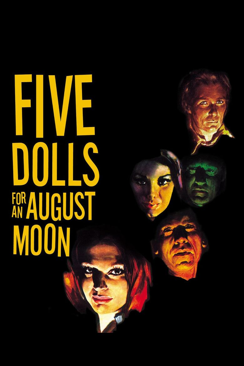 Five Dolls for an August Moon movie poster