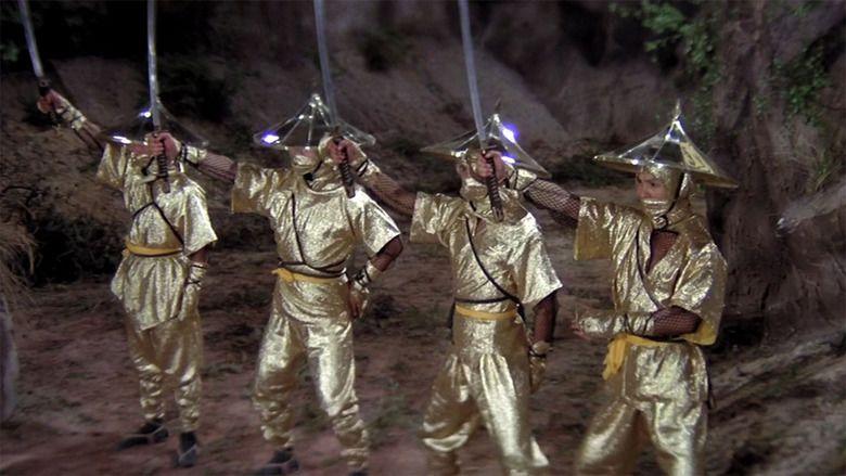 Five Element Ninjas movie scenes