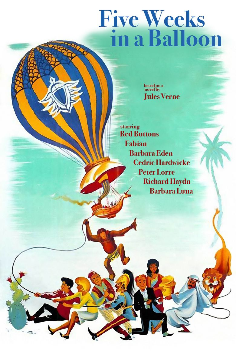 Five Weeks in a Balloon (film) movie poster