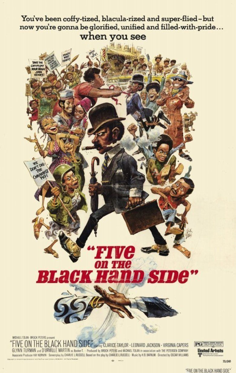 Five on the Black Hand Side movie poster