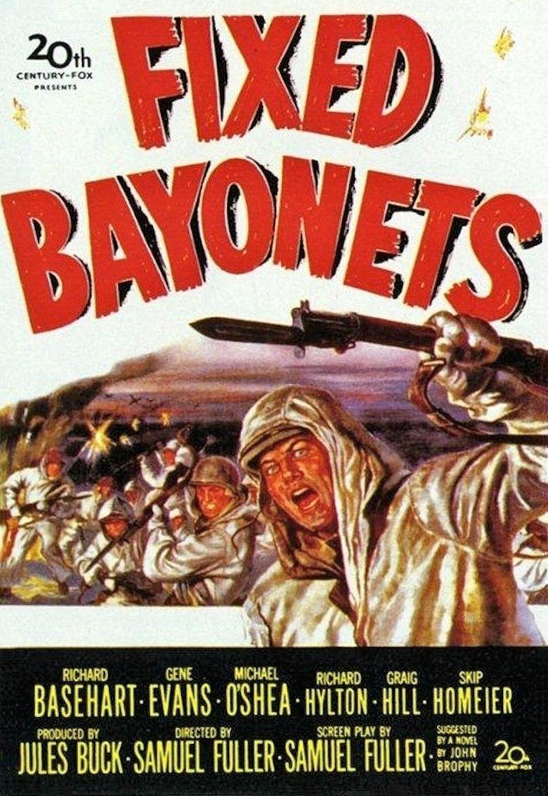 Fixed Bayonets! movie poster