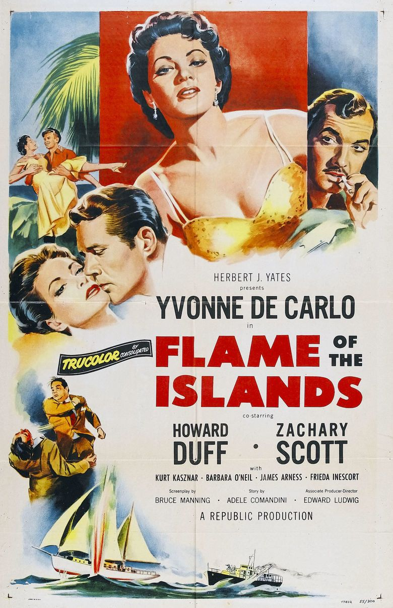 Flame of the Islands movie poster