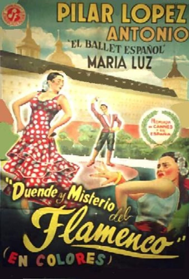 Flamenco (1952 film) movie poster