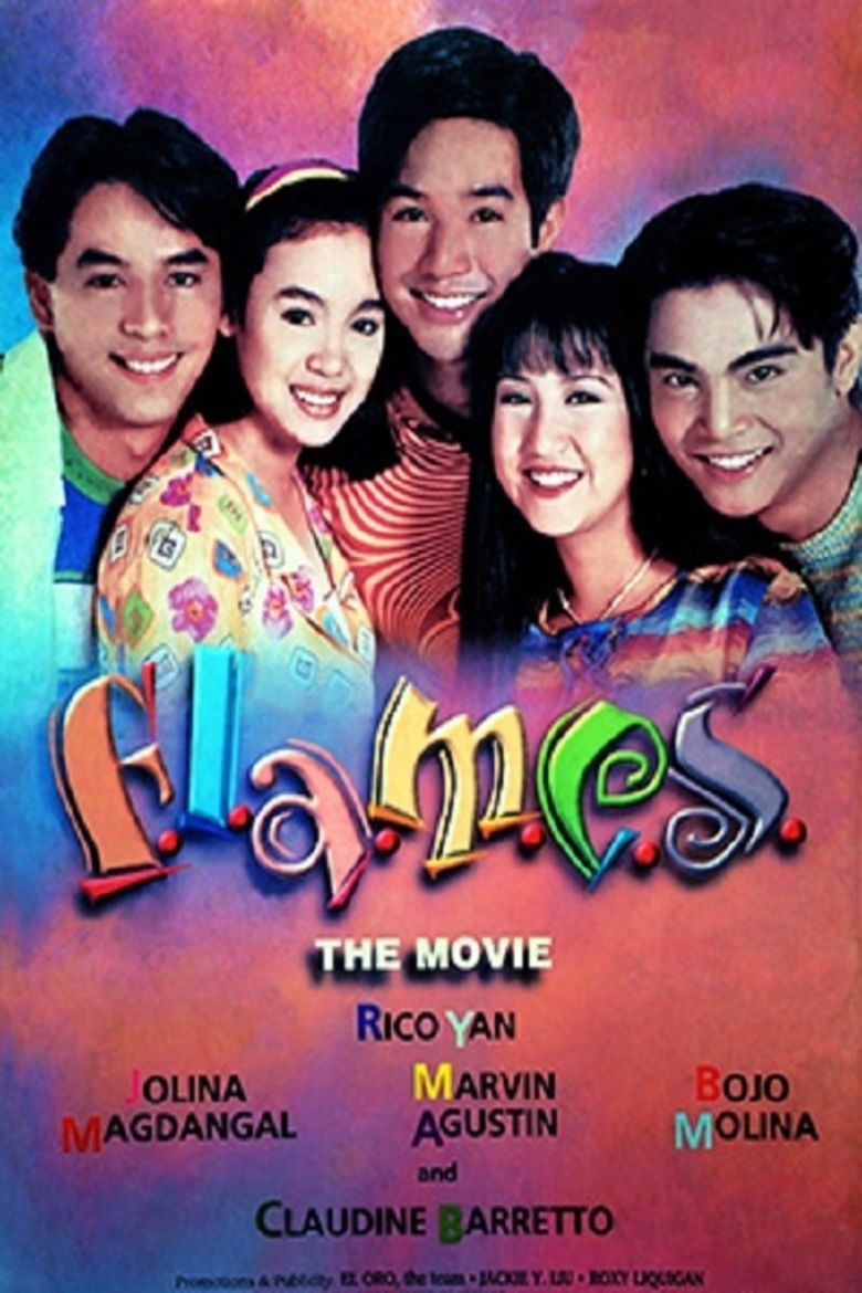 Flames (TV series) movie poster