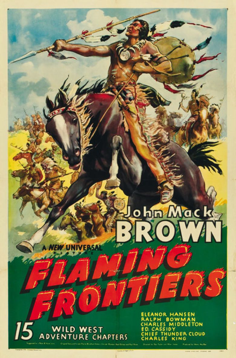 Flaming Frontiers movie poster