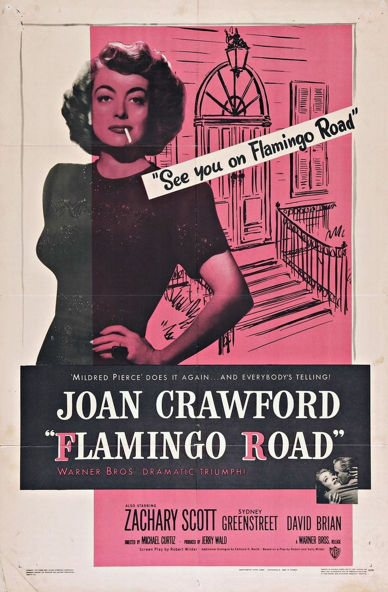 Flamingo Road (film) movie poster