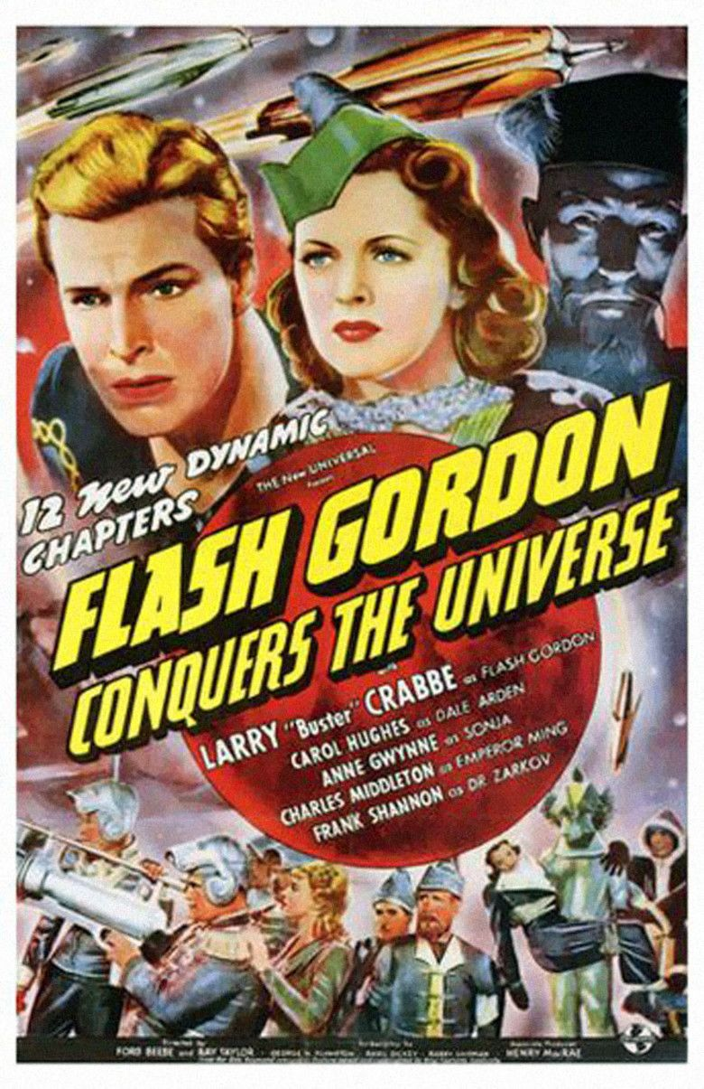 Flash Gordon Conquers the Universe movie poster
