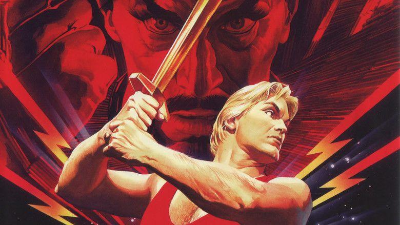 Flash Gordon (film) movie scenes