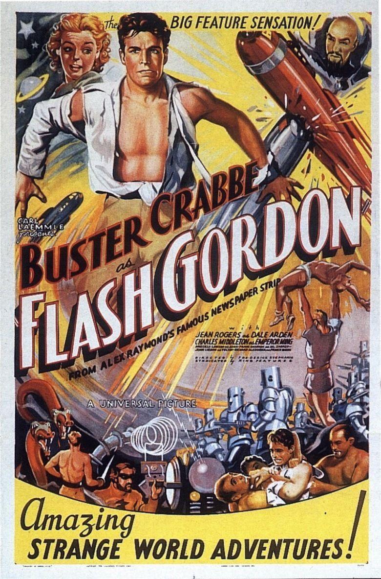 Flash Gordon (serial) movie poster