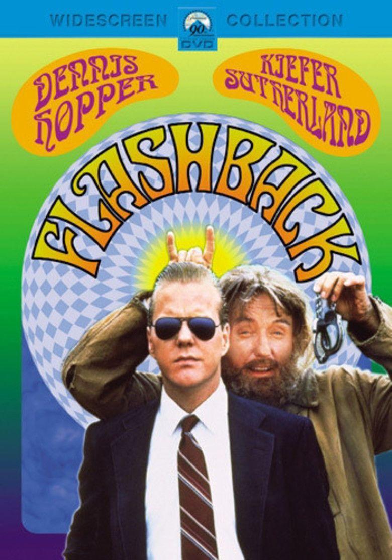 Flashback (1990 film) movie poster