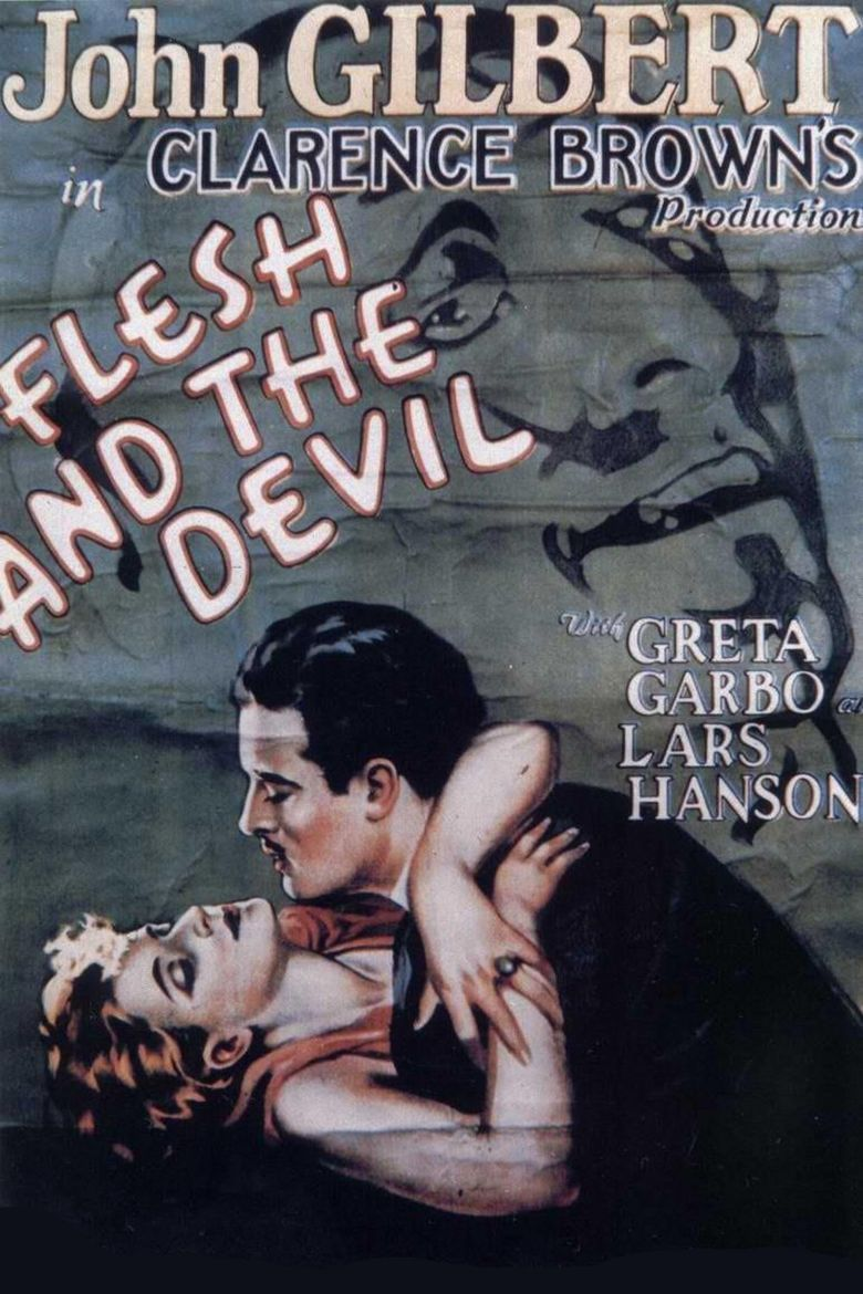 Flesh and the Devil movie poster
