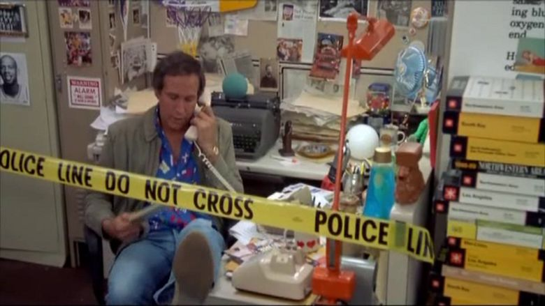 Fletch Lives movie scenes